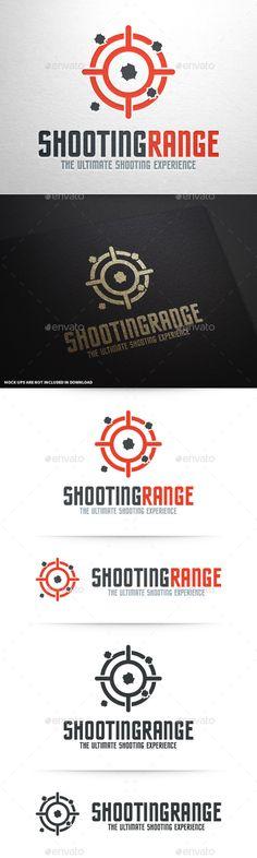 Shooting Range Logo Template - Symbols Logo Templates