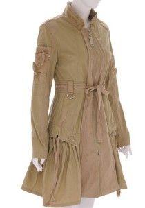 Steampunk Coat Dress