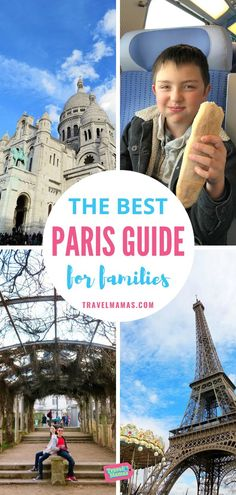 Dreaming of a trip to Paris with kids? This Paris travel guide for families is full of tips and fun things to do in France's beautiful capital city! Paris Travel Guide, Travel Tips, Travel Ideas, Family Vacation Destinations, Family Vacations, Vacation Ideas, Travel Destinations, Travel With Kids, Family Travel
