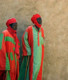 "Africa | ""The Sultan's Men"".  The Hausa bodyguards of the Sultan of Zinder.  Niger 