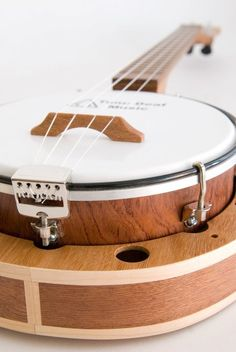 Banjo ukulele style 2 mixed dark wood by celentanowoodworks, $700.00 just for fun