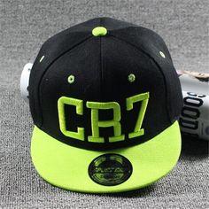 39bb4e4a76a 2017 New Fashion Children Ronaldo Cr7 Neymar Njr Baseball Cap Hat Boys  Girls Kids Messi Snapback