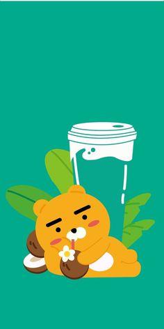 • 카카오프렌즈 💙 라이언 모음! 폰배경화면/잠금화면 공유 : 네이버 블로그 Bear Wallpaper, Colorful Wallpaper, Iphone Wallpaper, Best Quotes Wallpapers, Cute Wallpapers, Apeach Kakao, We Bare Bears Wallpapers, Cute Themes, Kakao Friends