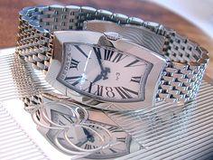 Bedat & Co. Watch (Ladies No 3 Long Tonneau Stainless Steel Wristwatch, Women's Pre-owned Bedat and Co Designer Watches) Designer Watches, Watch Brands, Chanel Boy Bag, Switzerland, Branding Design, Stainless Steel, Shoulder Bag, My Love, Lady