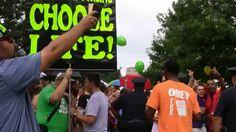 Lexington, KY Sodomite Shame 2014 | Open Air Preaching | Kerrigan Skelly