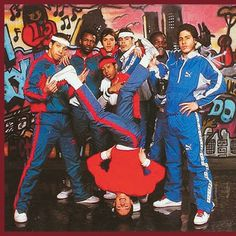 Hip Hop Fashion: style of the 1980s, it originated in the South Bronx with break dancing. Description from pinterest.com. I searched for this on bing.com/images