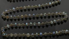 Natural 8mm Labradorite Wire wrapped Gemstone Rosary by Beadspoint, $29.99