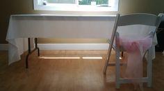 linen on a table Tables, Chair, Furniture, Home Decor, Mesas, Table, Stool, Interior Design, Home Interior Design