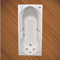 BANHEIRA TURQUESA ACOMODAÇÃO INDIVIDUAL COM HIDRO 1,61 X 0,81 X 0,43 105L GEL COAT Com um belo design que oferece conforto e bem estar, a Banheira Turquesa é fabricada com produtos de alta qualidade e acompanha os seguintes acessórios:   4 Jatos cromados 1 Entrada de água 1 Saída de água 1 Entrada de ar (arejador) 1 Sucção 1 Motor bomba 1/3 cv Tubulação de água dos bicos de hidromassagem Tubulação de ar dos bicos de hidromassagem