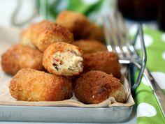 La Cuina de l'Eri: Croquetes de pollastre, escalivada i formatge de cabra