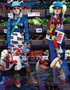 'My Market Day' by Giampaolo Sgura for Vogue Japan October 2014
