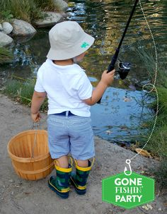 ADORABLE Gone Fishin Birthday Party Pictures + Inspiration!