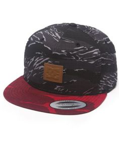 Dc Shoes Men Recessed Strapback Cap Camo 1SZ