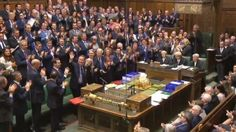 The House of Commons at Prime Minister's Questions