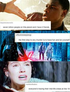 Star Wars The Force Awakens tumblr #starwars #forceawakens #tfa