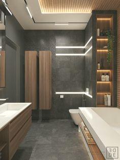 35 Deluxe Interior Design Ideas With Wood Slat Walls Modern Interior Design, Interior Design Inspiration, Design Ideas, Interior Ideas, Interior Architecture, Design Trends, Interior Ceiling Design, Architecture Awards, Bar Interior