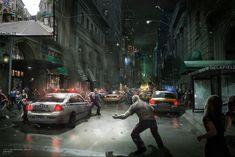 The Amazing Spider-Man Concept Art by Josh Nizz