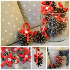 come utilizzare le pigne per decorazioni natalizie