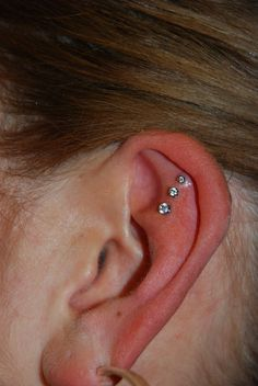ear piercing... Small and awkward