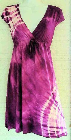 Tie Dye Lycra Dress