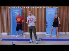 60 Minute Total Body Strength Workout with Weights - Weight Strength Training for Women Men at Home - YouTube