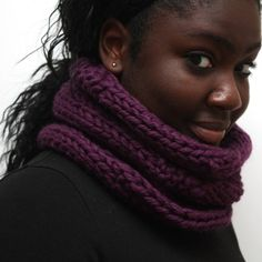 Wildberry Wool Cowl by Urbanknit