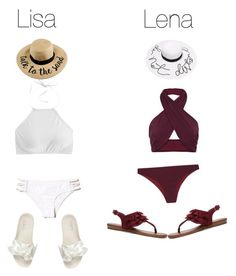 """Lisa or Lena"" by layla07 ❤ liked on Polyvore featuring Hollister Co., FELLA, J.Crew, Fergie and Puma"