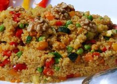 Pan-fried Quinoa and Vegetables WW - Main Course and Recipe- Poêlée de Quinoa et Légumes WW – Plat et Recette WW Quinoa and Vegetable Pan, recipe for a light pan of quinoa, full of flavor, very rich and healthy, easy and perfect to make for a meal - Clean Eating Dinner, Clean Eating Snacks, Healthy Dinner Recipes, Vegetarian Recipes, Snack Recipes, Fried Quinoa, Fried Rice, Plats Weight Watchers, Gluten Free Puff Pastry