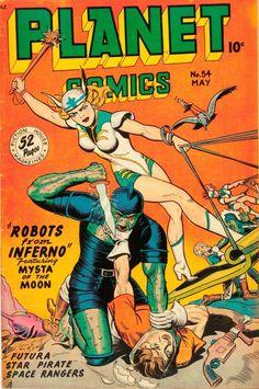 Planet Comics #54, 1948