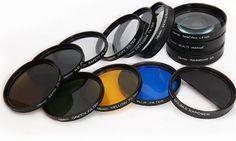 13 Stück Filter Filtern für Canon EOS 1100D, 650D: Amazon.de: Kamera & Foto