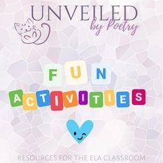 Literature Activity Almanacs, Quiz Card Games, Escape Rooms, and More!