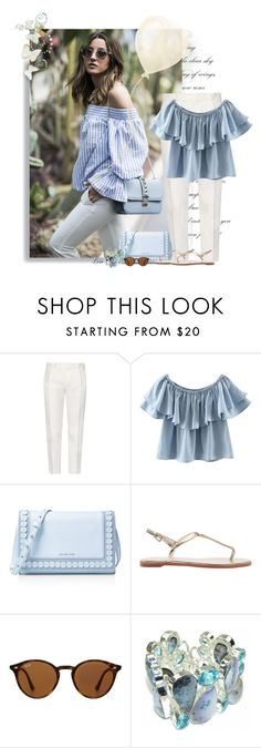 """Care for Lunch?"" by lmm2nd ❤ liked on Polyvore featuring Tod's, Chicnova Fashion, MICHAEL Michael Kors and Ray-Ban"