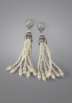 deco pearl earrings...I'm not usually a pearl fan, but these are special!