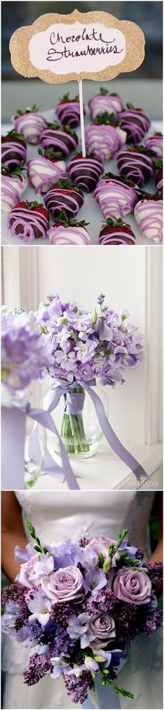 Color of 2018 —-    24 Violet Wedding Ideas You Can't Miss!