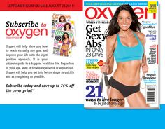 Our preview book from Oxygen's September 2011 issue featuring Lori Harder!