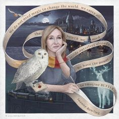 """""""We do not need magic to change the world. We carry all the power we need inside ourselves already."""" – J.K. Rowling Cr: asyamitskevich"""