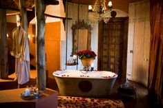 15 Incredible Hotel Bathrooms You'd Never Want to Leave