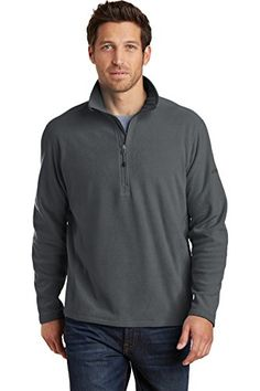 Eddie Bauer ® 1/2-Zip Microfleece Jacket. EB226 Warmth and comfort-without the bulk. With flatlock stitching throughout this lightweight versatile jacket is warm on its own or layers easily under a jacket when its cold (Barcode EAN = 0744407680952) http://www.comparestoreprices.co.uk/december-2016-5/eddie-bauer-®-1-2-zip-microfleece-jacket-eb226.asp