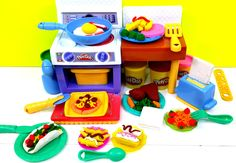 Baby Doll Microwave Oven Cooking Kitchen Playset Toys