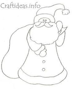 Christmas Pattern - Santa Claus with Sack