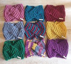 Urban Turban / Ear Warmer | Market Street Crochet Gifts, Knit Crochet, True Colors, Colours, Irish Design, Chunky Wool, Ear Warmers, Design Process, Turban