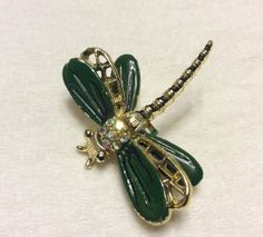 A personal favorite from my Etsy shop https://www.etsy.com/listing/465956005/vintage-1950s-dragonfly-brooch-pin