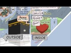 The Victory | Nouman Ali Khan | illustrated lesson of Surah An-Nasr - YouTube