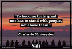 Quote from Charles de Montesquieu
