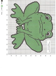 FROG WALL HANGING by CREATIVECANVASCRAFTS.COM