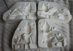 Vintage Molds for Ceramics Sold for 129.00
