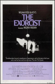 Exorcist film poster by Bill Gold