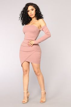 Feelin' My Vibe Midi Dress - Mauve - Martokizza Women's Dresses, Pretty Dresses, Beautiful Dresses, Casual Dresses, Short Dresses, Fashion Dresses, Dresses Online, Sexy Outfits, Stylish Outfits
