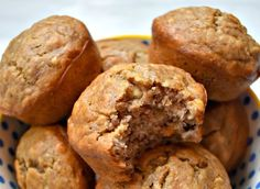 Banana Bread Recipes, Muffin Recipes, Brunch Recipes, Sweet Recipes, Dessert Recipes, Biscuit Cupcakes, Pie Co, Healthy Muffins, Coco