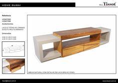 Mueble para Tv madera